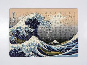 白地(無地)のジグソーパズルにUVインクによる印刷